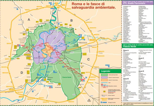 Domeniche ecologiche roma dove si circola