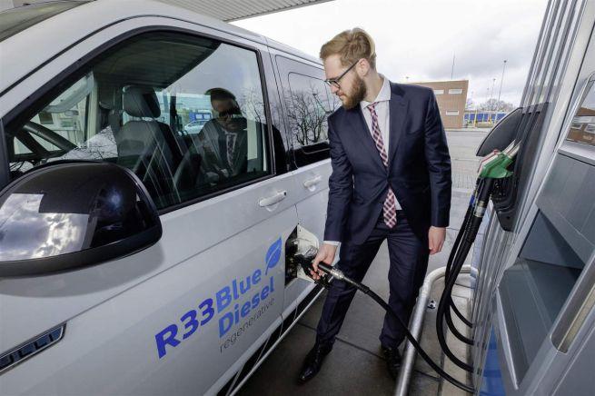 carburante rigenerato R33 BlueDiesel