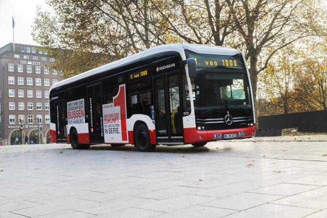autobus elettrici mercedes ecitaro amburgo